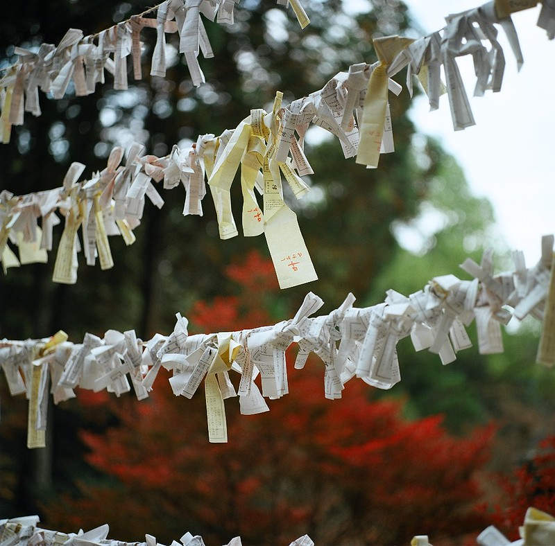 仁比山神社|おみくじ