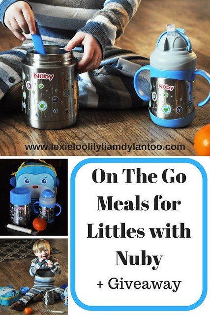 On The Go Meals for Littles with Nuby + Giveaway