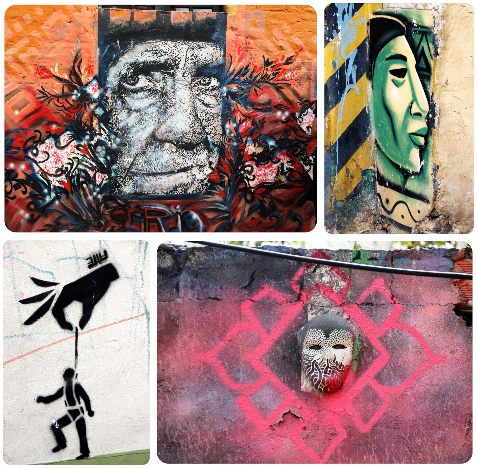Colombia Bogota Street Art