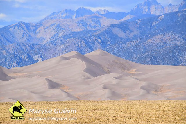 Great Sand Dunes National park Colorada USA États-Unis