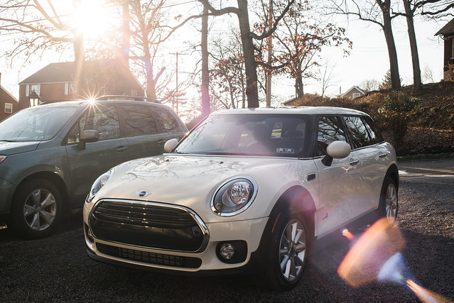 MINI Cooper Clubman All4 - Lens Flare