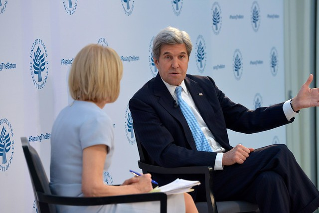 """Secretary Kerry Discusses Top Foreign Policy Priorities at USIP's """"Passing the Baton 2017: America's Role in the World"""" Event"""