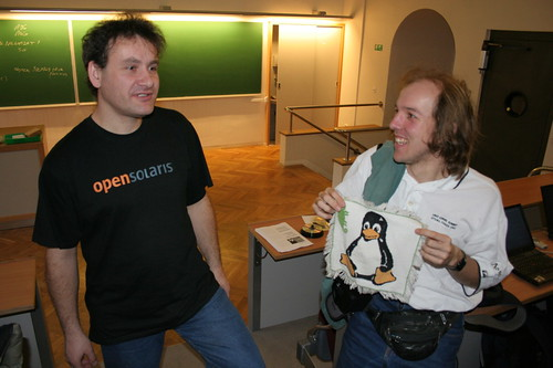 OpenSolaris or Penguin | by PetrS