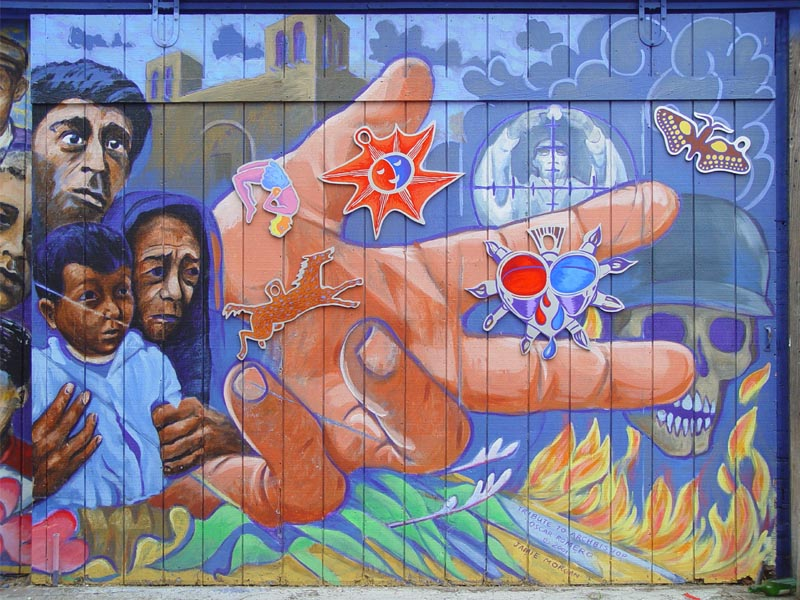 Mural: Tribute to Archbishop Oscar Romero