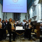 Rotary Christmas Fair Concert L-Plate Brass (5)