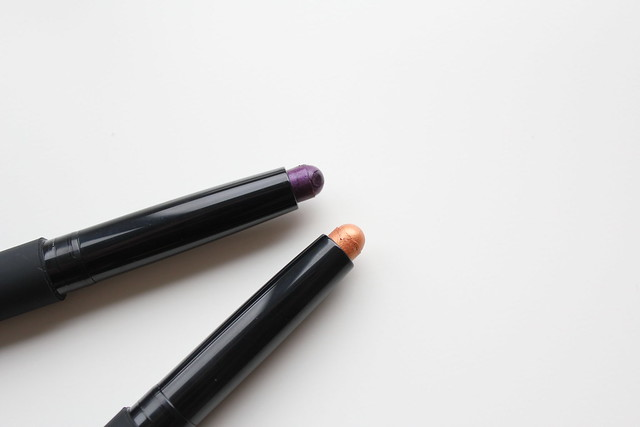 NARS Velvet Shadow Stick in Siros and Usbek for Spring 2017 review and swatches