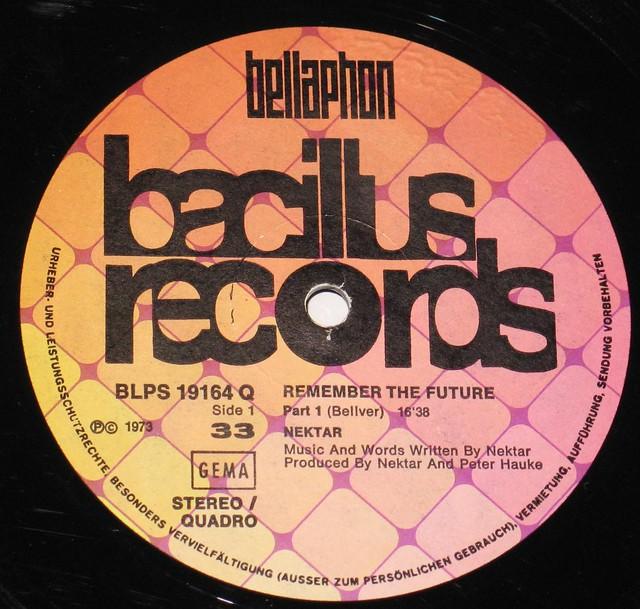 "Nektar Remember the Future Gatefold 12"" vinyl LP"