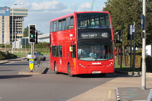 Metroline West TE1736 SN09CFL