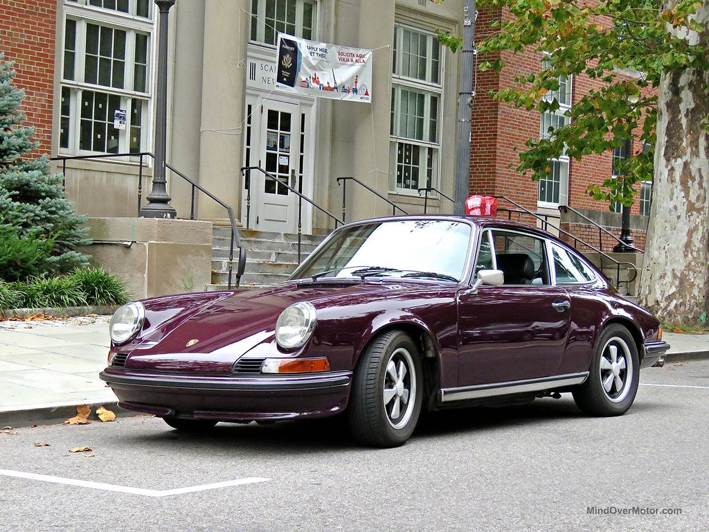 Purple Porsche 911E Scarsdale 2