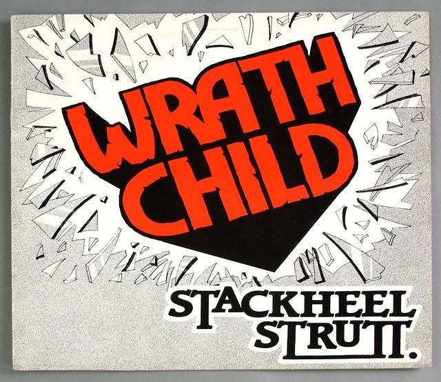 """WRATHCHILD STACKHEEL STRUTT RED VINYL 12"""" EP VINYL"""