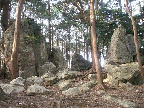 渭伊神社境内遺跡