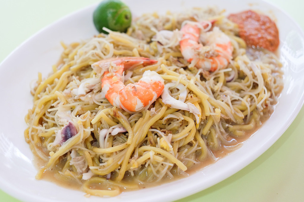 Fatty Fried Hokkien Prawn Noodle