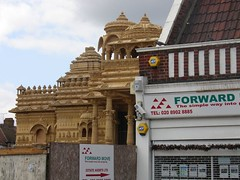 Hindu temple, Alperton, London | by teddave