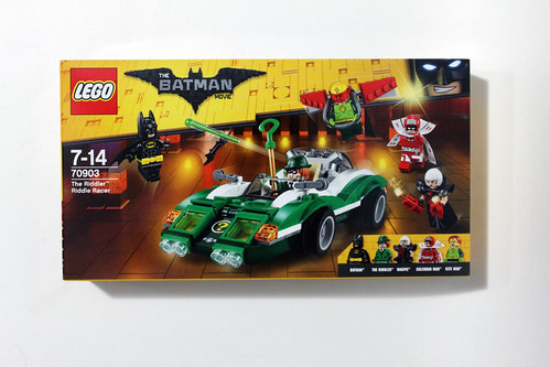 e08b23a8332 The LEGO Batman Movie The Riddler Riddle Racer (70903) Review - The Brick  Fan