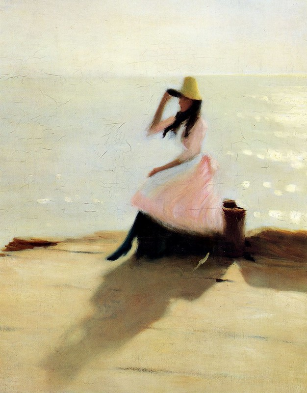 Philip Wilson Steer - Young Woman At The Beach