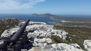Cape Point hike: signal cannon
