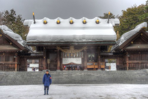 Hokkaido-Jingu Shrine on DEC 26, 2016 (11)