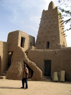 Tower of the great mosque of Timbuktu | by Erwin Bolwidt