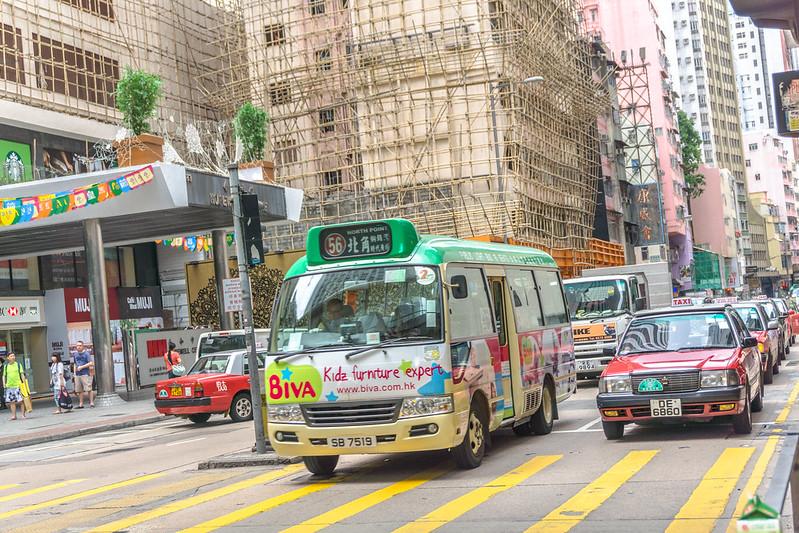 Hong Kong Mini Bus image by IQRemix CC