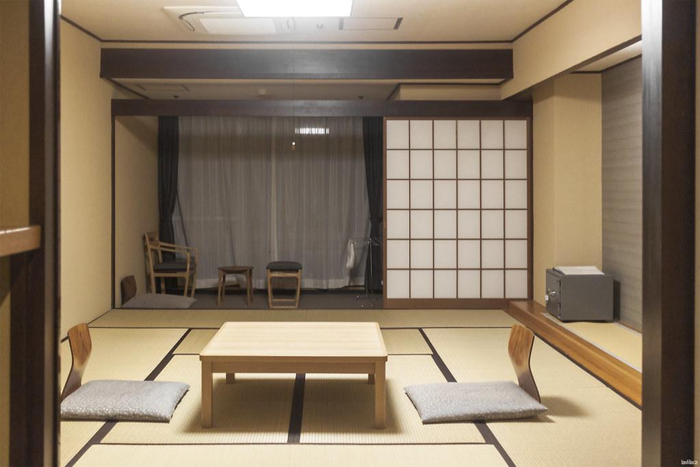 lavlilacs Japan Hakone Pax Yoshino Hotel tatami sitting bedroom