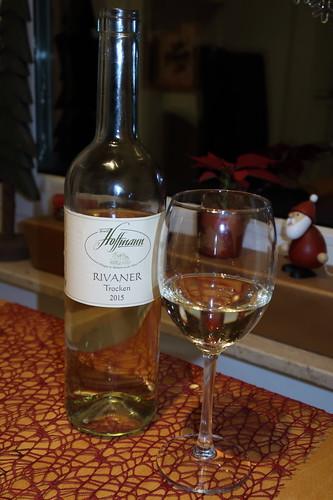 Riesling (Weißwein vom ökologischen Weingut Hoffmann in Minheim an der Mosel, 2015)