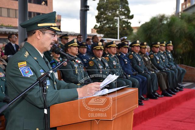 Mayor General Nicacio Martínez, nuevo Director de la ESDEGUE