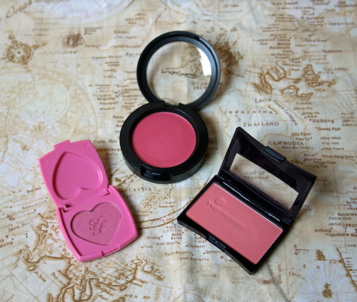 2016 make-up inventory: blush