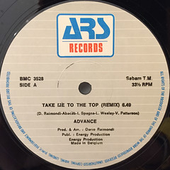 ADVANCE:TAKE ME TO THE TOP(LABEL SIDE-A)