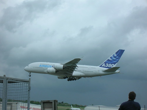 A380 over Filton | by rbrwr