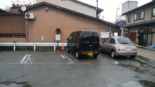 gifu-takayama-masagosoba-parking
