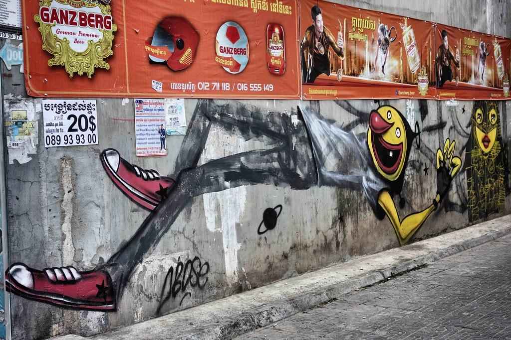 Phnom Penh - Street Art