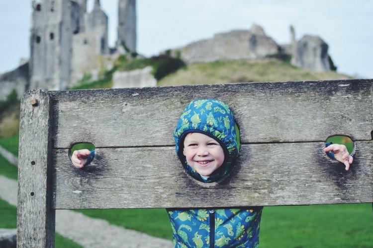 stocks at Corfe Castle
