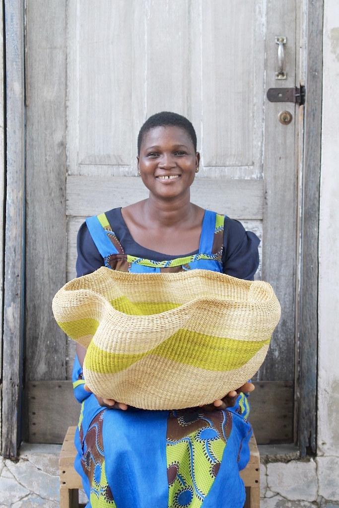 specialty basket handwoven