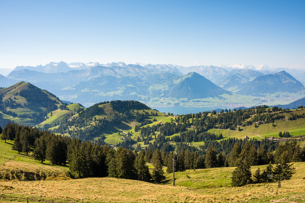 View at Rigi Kulm