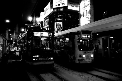 Tramcars at Sapporo on DEC 29, 2016 (103)