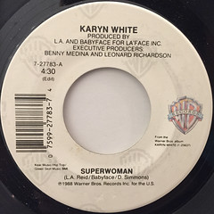 KARYN WHITE:SUPERWOMAN(LABEL SIDE-A)