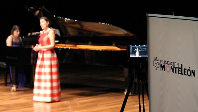 """PALOMA FRIEDHOFF, SOPRANO & LEYRE LISARRI, PIANO - VII FESTIVAL INTERNACIONAL DE MÚSICA DE CÁMARA """"FUNDACIÓN MONTELEÓN"""" - AUDITORIO CIUDAD DE LEÓN - 9.12.16"""