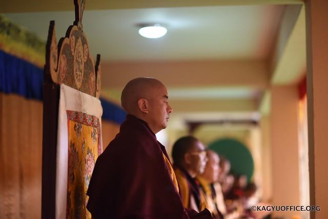 法王噶瑪巴歷史性造訪印度智慧林