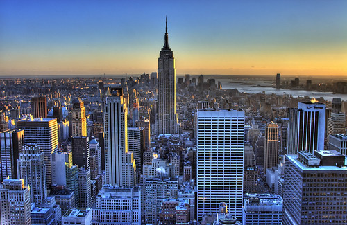 Empire State Building at dusk | by Mark Interrante