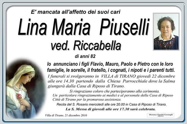 Piuselli Lina Maria
