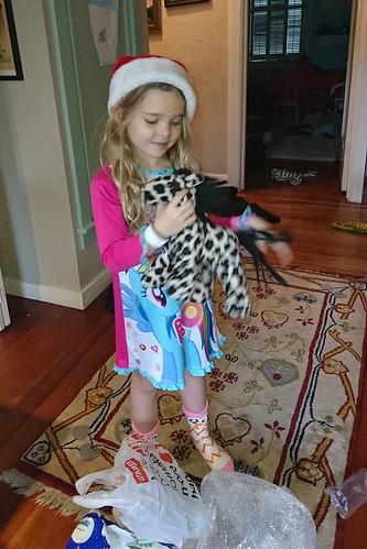 Audrey's cheetah horse
