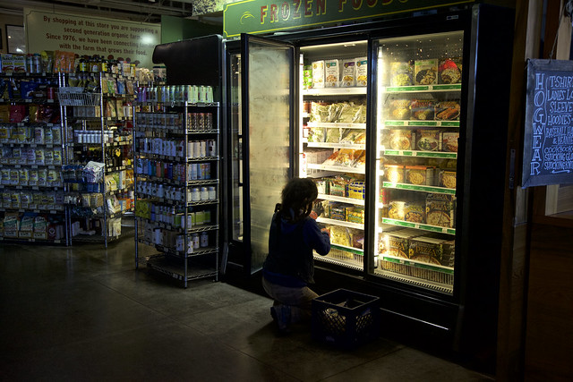 By the Light of the Frozen Foods