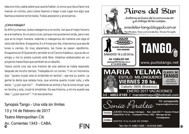Punto Tango Enero 2017 Magazine 12