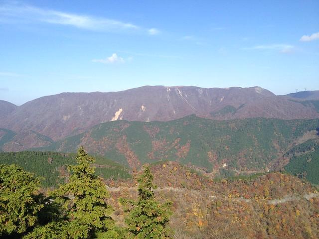 天狗堂 展望岩から御池岳