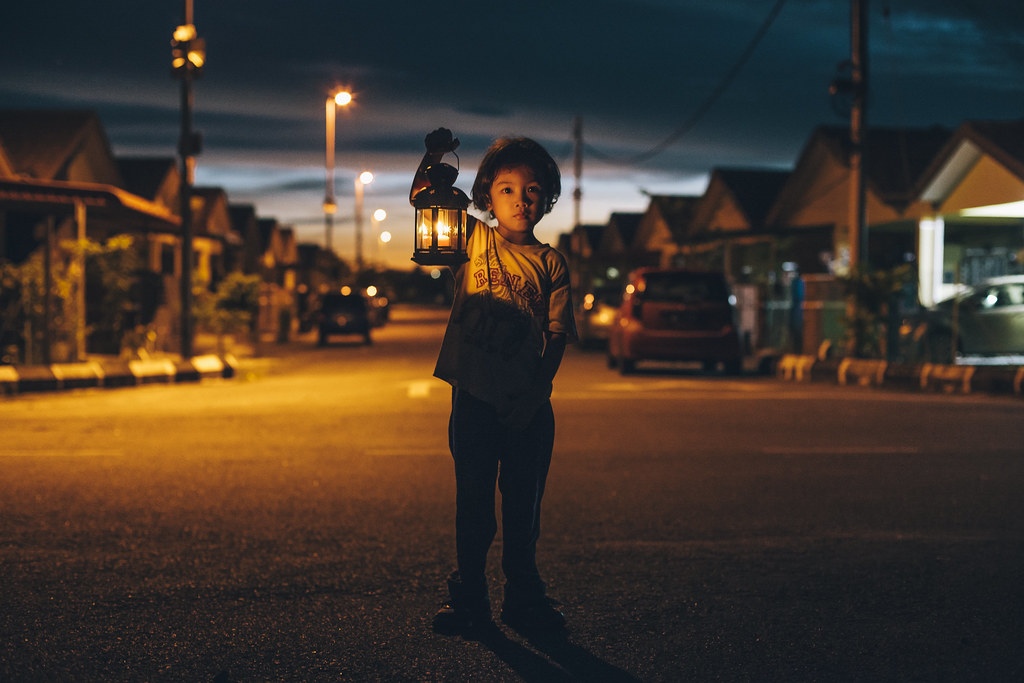 Family Photography | Boy With Lantern