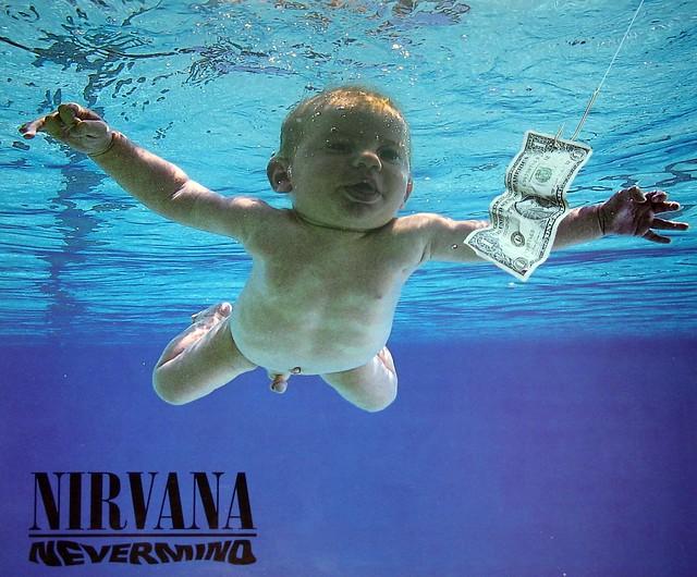 "NIRVANA Nevermind 12"" LP Vinyl Gramophone Record"