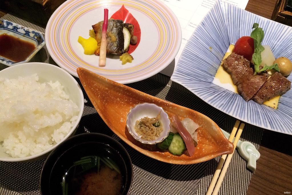 lavlilacs Japan Hakone Pax Yoshino Hotel set dinner