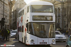Wrightbus NRM NBFL - LTZ 1769 - LT769 - YouTube DT - Streatham Station 159 - Abellio London - London - 161203 - Steven Gray - IMG_9398