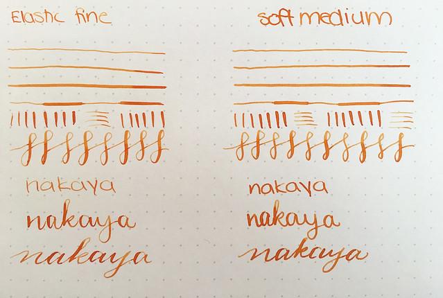 Nakaya Nibs & Video Elastic, Medium, Medium Soft, Broad, Music @Iguana_Sell 21