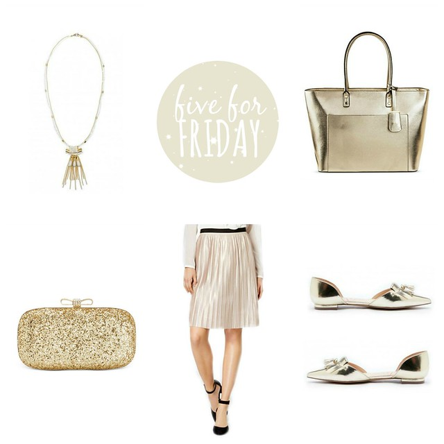 five for friday and the other gold | Style On Target blog